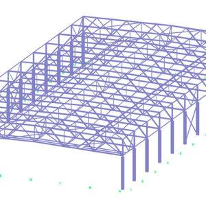 Проектирование ангара из металлооконструкций