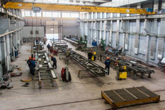 Проект цехов и заводов из металлических конструкций