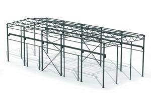 Проект кмд металлоконструкции 12x30x8,5 м