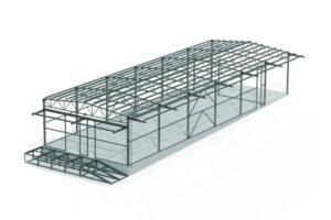 Проект КМД 15x36x5,5 м