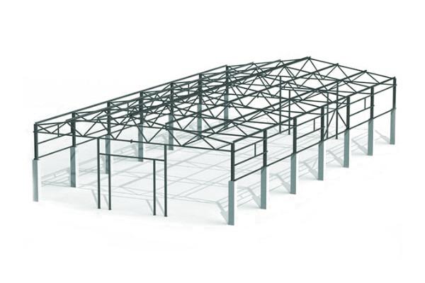 Проект кмд металлоконструкций 18x36x6 м