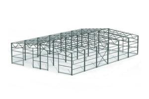 Проект КМД быстровозводимого здания 24х36х5 м